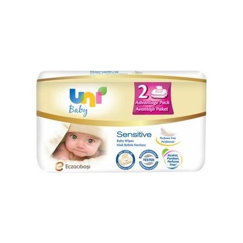 Uni Baby Sensitive Islak Havlu 2*56 Adet