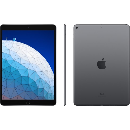 "Apple iPad Air 3 256GB 10.5"" Wi-Fi+ Cellular Retina  Tablet - Space Grey MV0N2TU/A"