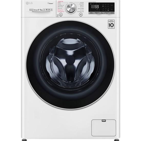 LG F4V5VGP0W A 9 kg Yıkama / 6 kg Kurutma 1400 Devir Çamaşır Makinesi