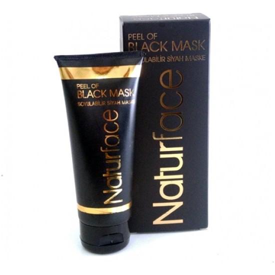 Naturface Black Mask(Soyulabilir Siyah Maske)
