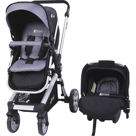 Star Baby SB202 Rabbit Çift Yönlü Travel Sistem Bebek Arabası