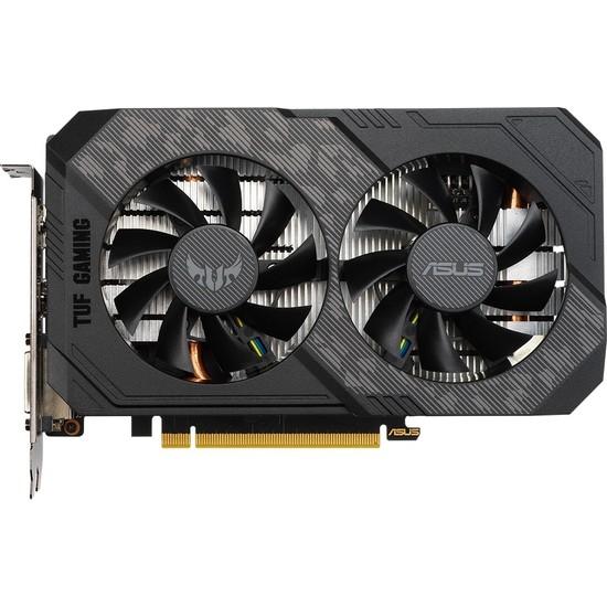 Asus TUF GeForce GTX 1650 Super OC Gaming 4GB 128Bit GDDR6 PCI-E 3.0 Ekran Kartı (TUF-GTX1650S-O4G-GAMING)