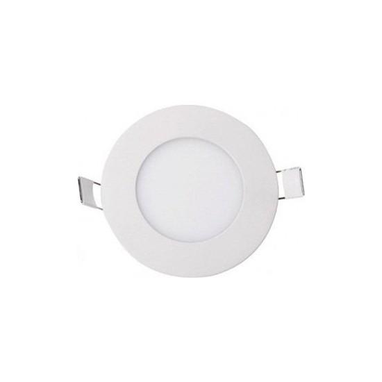 Cata CT-5144-B Panel LED Slim Yuvarlak Spot 3 W 6500K Beyaz Işık Beyaz Gövde