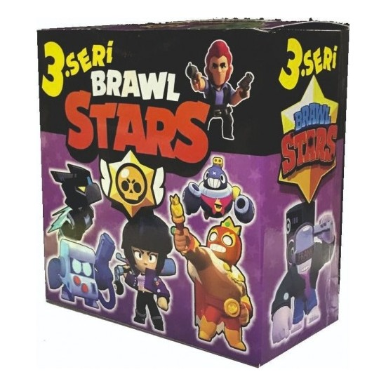 Brawl Stars 3. Seri Kutu Oyunu 360 Adet Kart