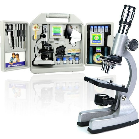 Zoomex MA1200-3PZL Mikroskop Seti + Taşıma Çantası Hediyeli - Eğitici ve Öğretici