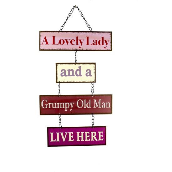 Carma Concept Lovely Lady And A Grupy Old Man Lıve Here Pano