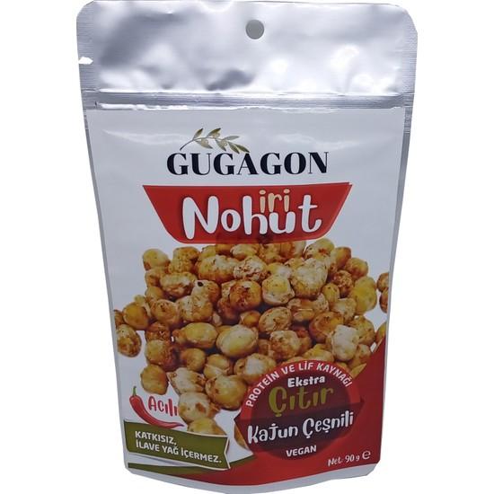 Gugagon Acılı Kajun Çeşnili Çıtır İri Nohut 90 gr