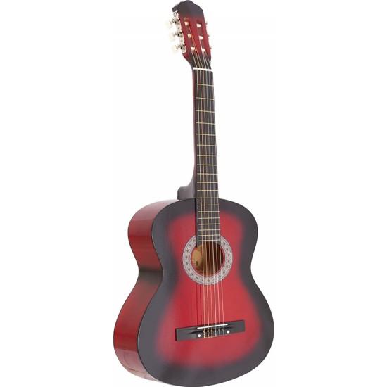 Madrıd MCG-120 Rds-Kırmızı Siyah 39 Klasik Gitar Tam Boy