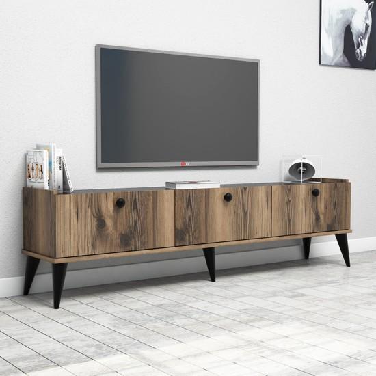 Bimossa E3610 Sümer Tv Ünitesi 180cm. Lidya/Mermer