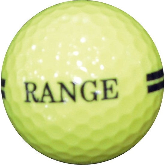 Golf Topu 12 Adet - Range (Sarı)