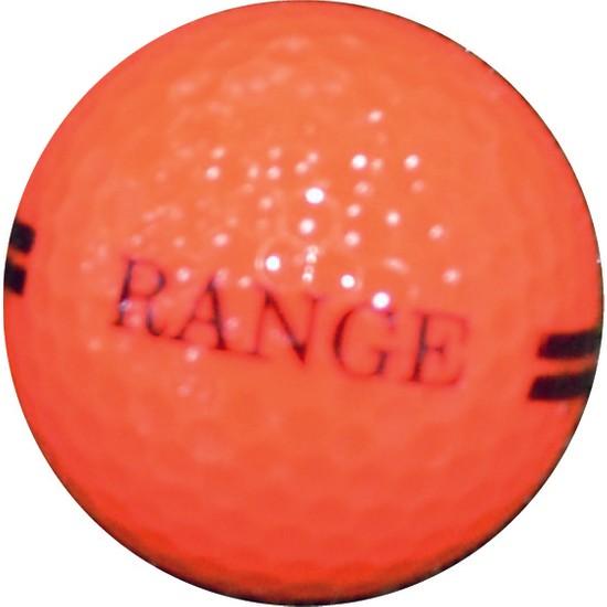 Golf Topu 12 Adet - Range (Turuncu)