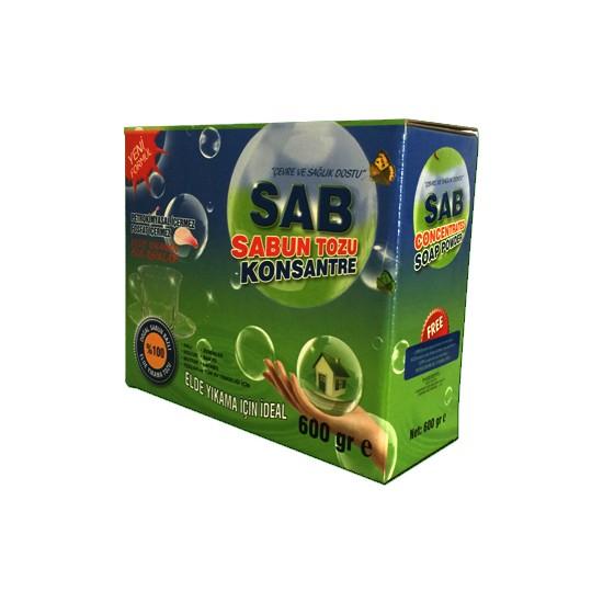 Sab Konsantre Sabun Tozu Elde Yıkama ve Genel Temizlik 600 gr