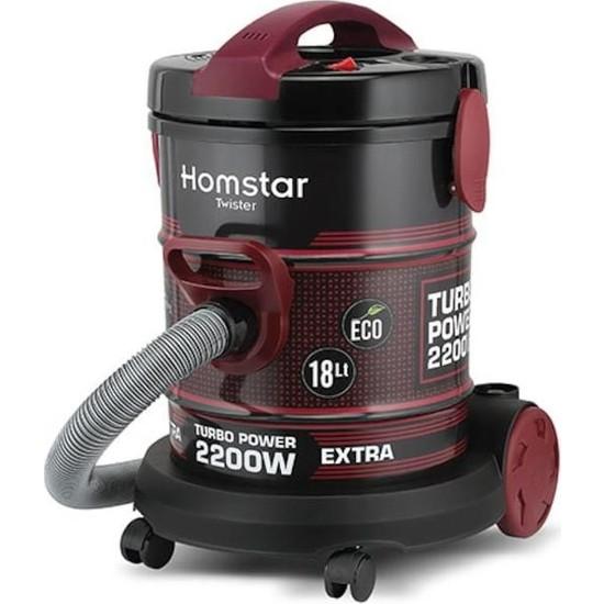 Homstar HS2300 Toz Torbalı Elektrikli Süpürge
