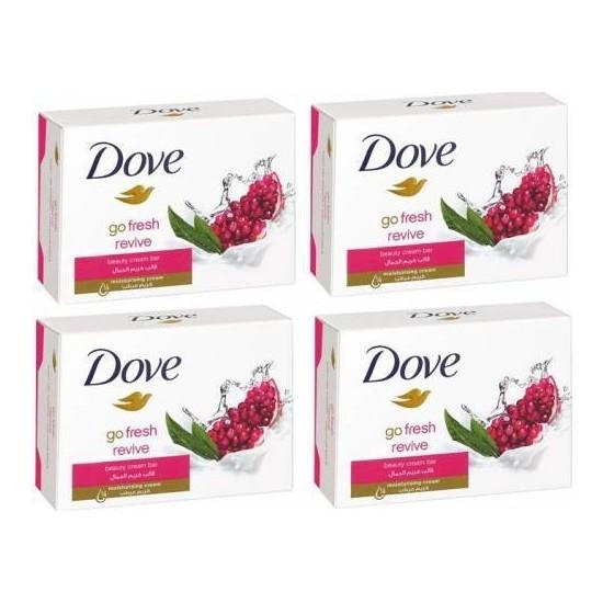 Dove Cream Bar Güzellik Sabunu 100 gr x 4 Adet