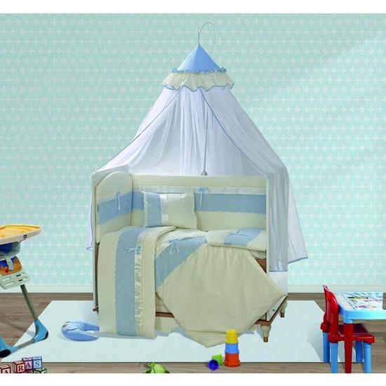 Aras Bebe Tofin Pamuklu Uyku Seti-İnci