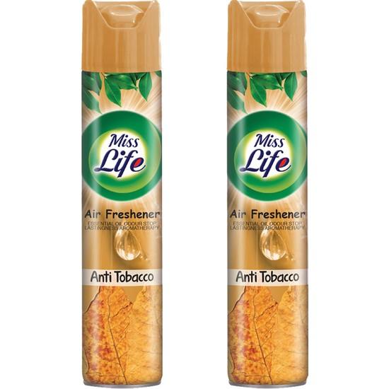 Miss Life Anti Tobacco 2'li Set 400 ml