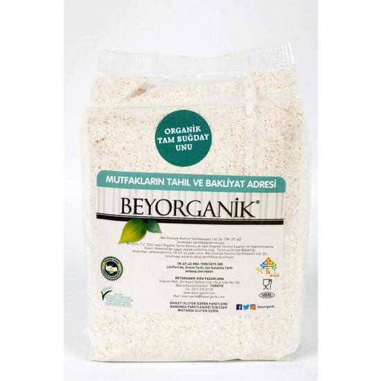 Beyorganik Organik Tam Buğday Unu 870 gr