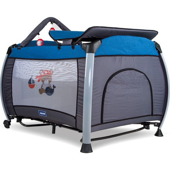 Maccon Baby Maccon Anemon Oyun Parkı 70X110 cm Mavi