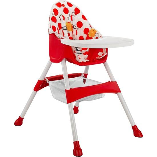 BABY2GO 2071 Pratik Mama Sandalyesi Kırmızı