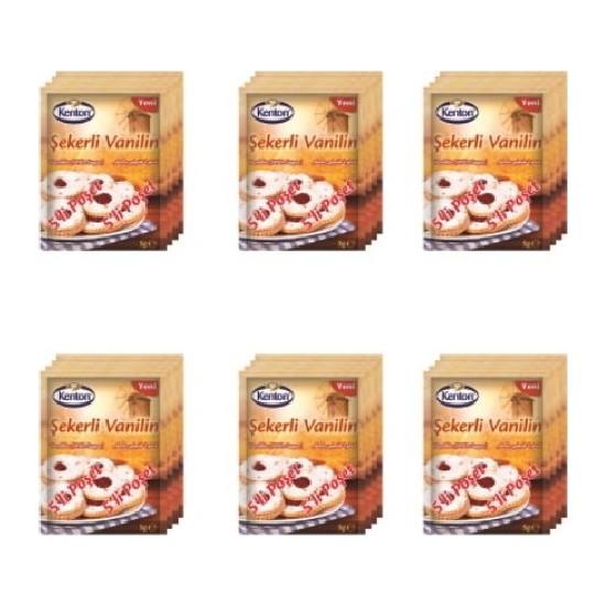 Kenton Şekerli Vanilin 5'li 6'lı Paket