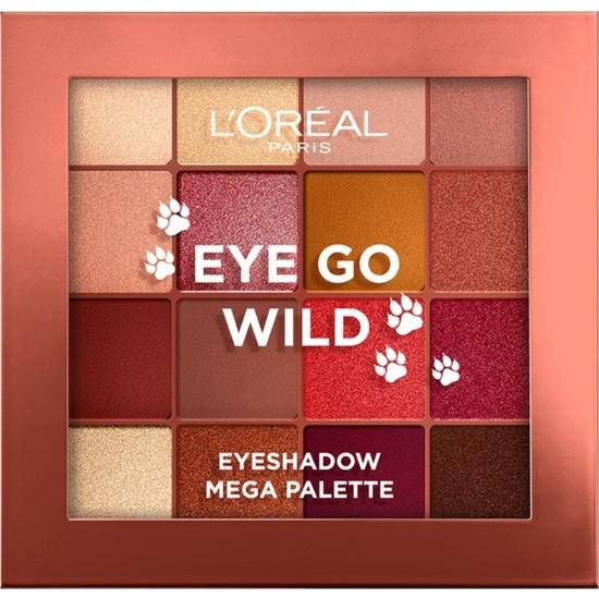 L'Oréal Paris Eye Go Wild Paleti