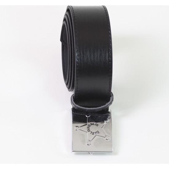 Moda Canel Güvenlik Kemer Siyah