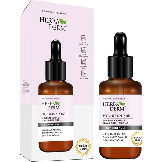 Herbaderm Superserum Hyaluronık 3D 30 ml