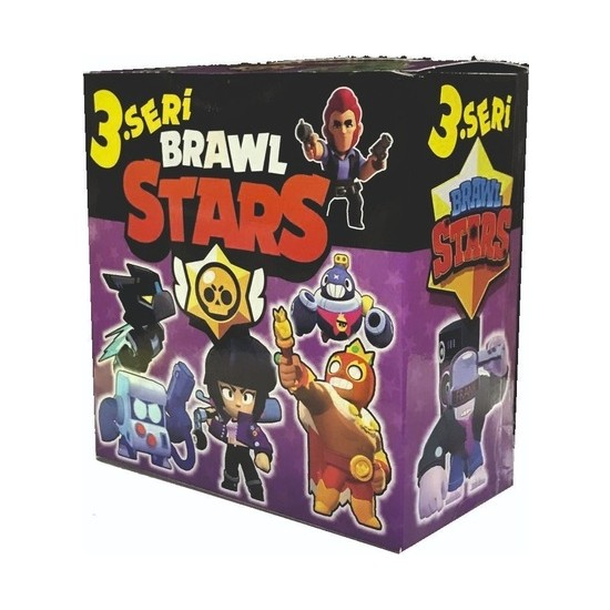 Brawl Stars 3. Seri Kutu Oyunu 450 Adet Kart