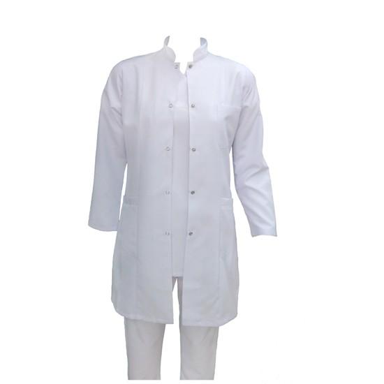 Palmiye Üniforma Ceket Boy Hakim Yaka Açık Yaka Doktor Öğretmen Laborant Önlüğü