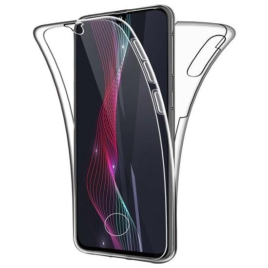 Samsung Galaxy A50 Ön Arka Şeffaf 360 Derece Tam Korumalı Kılıf