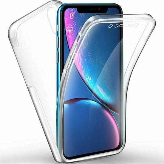 Huawei Y6 2019 Ön Arka Şeffaf 360 Derece Tam Korumalı Kılıf