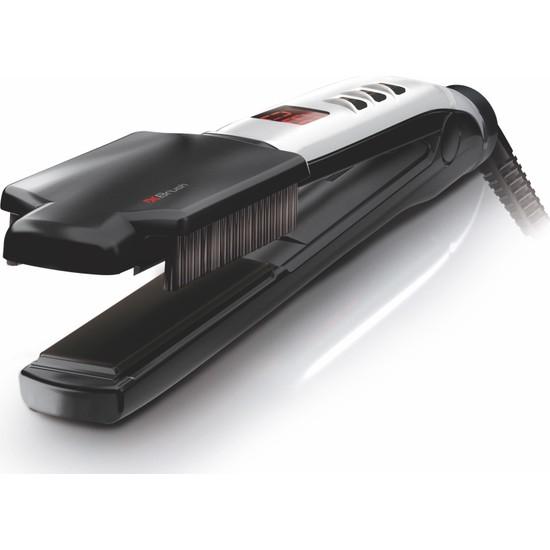 Valera Swiss'x - Super Brush & Shine Set 230°C Iyonik Seramik Turmalin Fırçalı Saç Düzleştirici