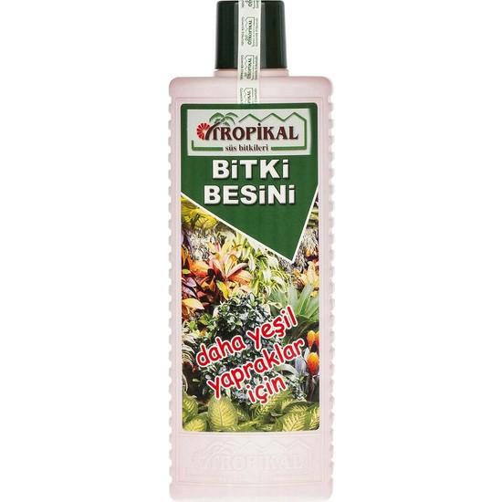 Mf Botanik Tropikal Daha Yeşil Yapraklar İçin Bitki Besini Sıvı Gübre 1000 ml
