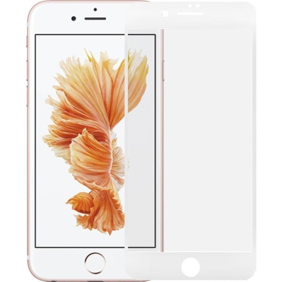 Microlux iPhone 6S Ekran Koruyucu Seramik Nano 9D Tam Kaplama