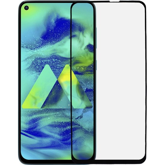 Microlux Samsung Galaxy M40 Ekran Koruyucu Seramik Nano