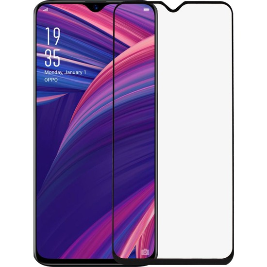 Microlux Oppo RX17 Pro Ekran Koruyucu 9D Tam Kaplama