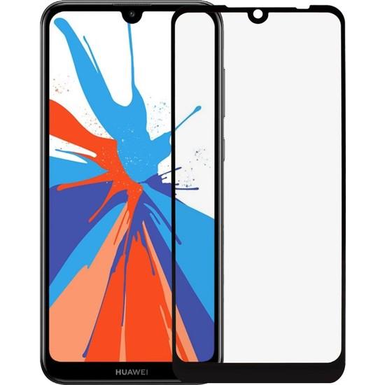 Microlux Huawei Y7 2019 Ekran Koruyucu 9D Tam Kaplama