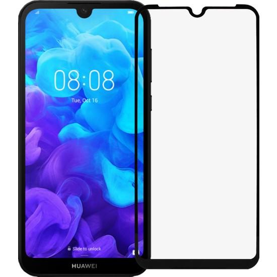 Microlux Huawei Y5 2019 Ekran Koruyucu 9D Tam Kaplama