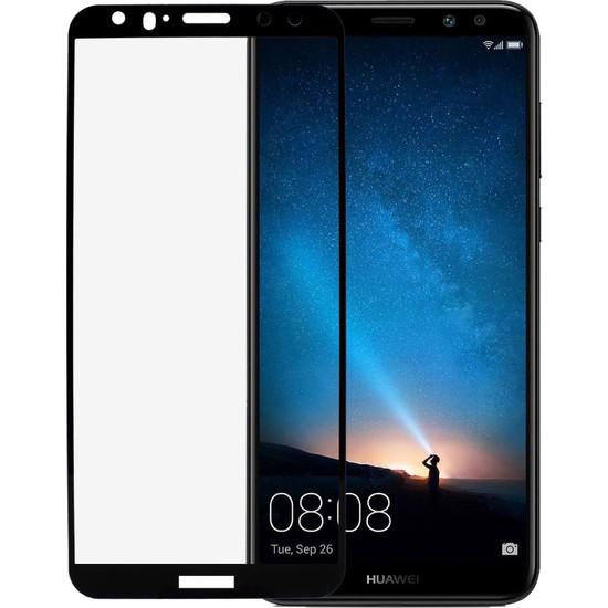 Microlux Huawei Mate 10 Lite Ekran Koruyucu 9D Tam Kaplama