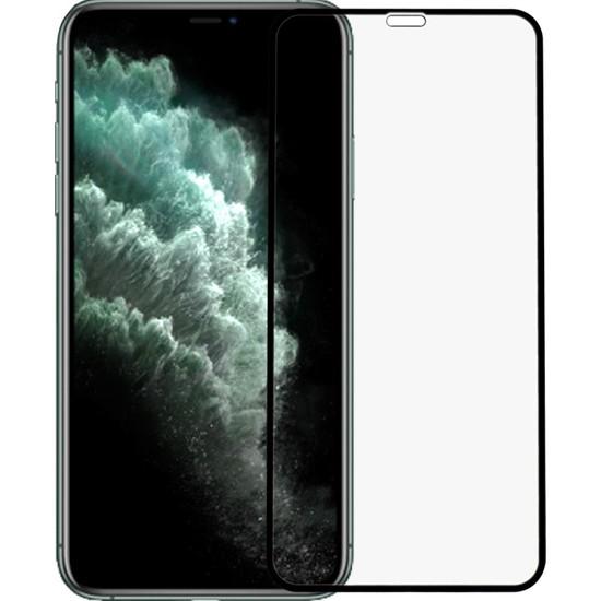Microlux iPhone 11 Pro Max Ekran Koruyucu 6D Tam Kaplama