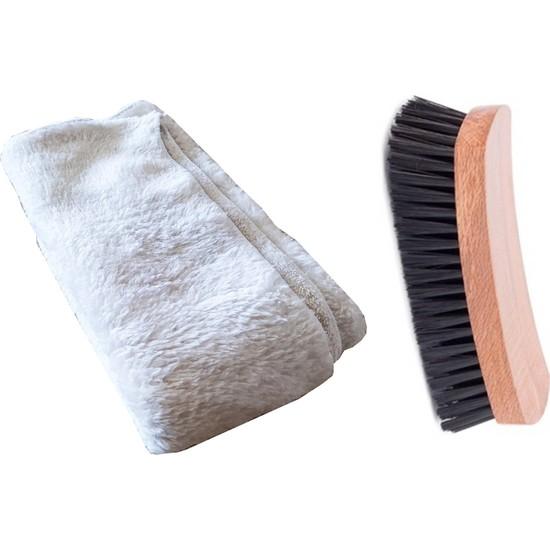 HomeCare Kaktüskedi Ayakkabı Parlatıcı Kadife Bez Fırça Hediyeli 712103