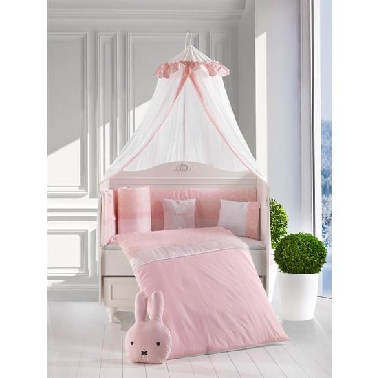 Kanz Bunny Bebek Uyku Seti Pembe 75 x 130 Cm