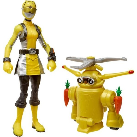 Hasbro Power Rangers Yellow Ranger And Morphin Jax Beastbot Oyuncak E7270-E8087