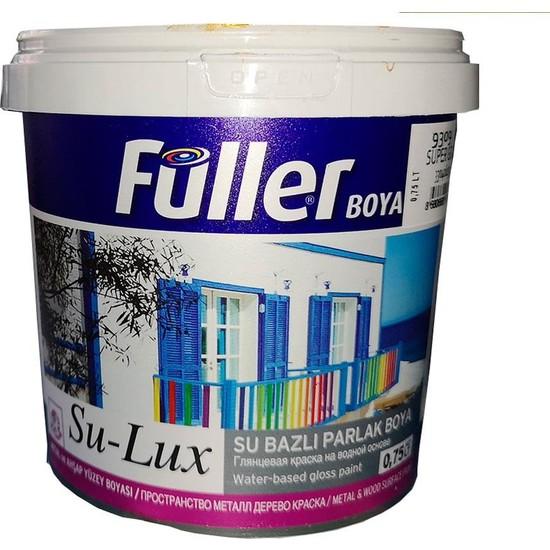 Füller Sulux Su Bazlı Yağlı Boya Beyaz 0,75 lt