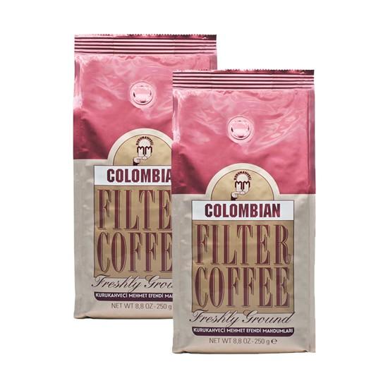Mehmet Efendi Colombian Filter Coffee 250 gr x 2'li