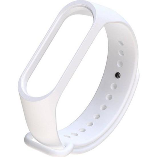 Nomino Mi Band 3/4 Akıllı Bileklik Kordonu Beyaz