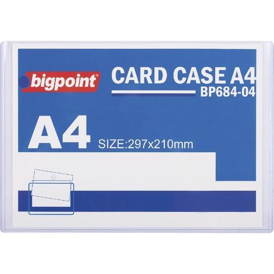 Bigpoint A4 Afiş Muhafaza Kabı 10'lu Poşet