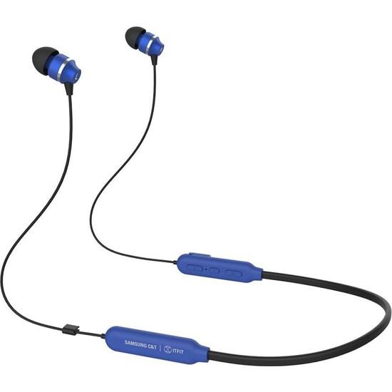 Samsung C&T İtfit A08C Kablosuz Bluetooth Kulaklık Mavi GP-OAU019SABLW (Samsung Türkiye Garantili)