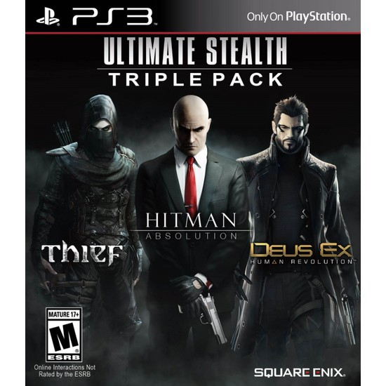 Thief Hitman Deus Ex Ultimate Stealth Triple Pack PS3 Oyun