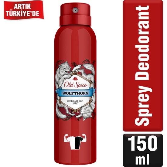 Old Spice Sprey Deodorant 150 ml Wolfthorn